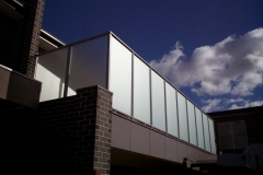 Nu-Lite Balustrading Type 1001-B - glass privacy screen-01