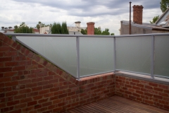 Nu-Lite Balustrading Type 1001- glass privacy screen-07