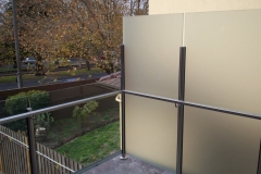 Nu-Lite Balustrading Type 6015-B - glass Privacy Screen-05