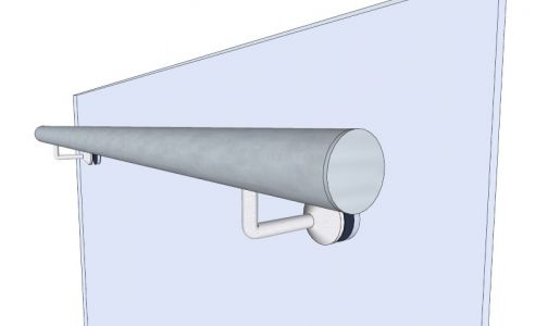Round Frameless Bracket